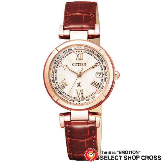 CITIZEN シチズン xC クロスシー エコ・ドライブ電波 レディース 腕時計 ブランド 電波時計 ec1112-06a