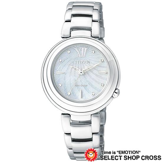 CITIZEN シチズン L エル エコ・ドライブ レディース 腕時計 ブランド em0338-88d