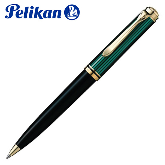 ペリカン 筆記用具 ボールペン K800 グリーン 1031522 正規品 名入れ