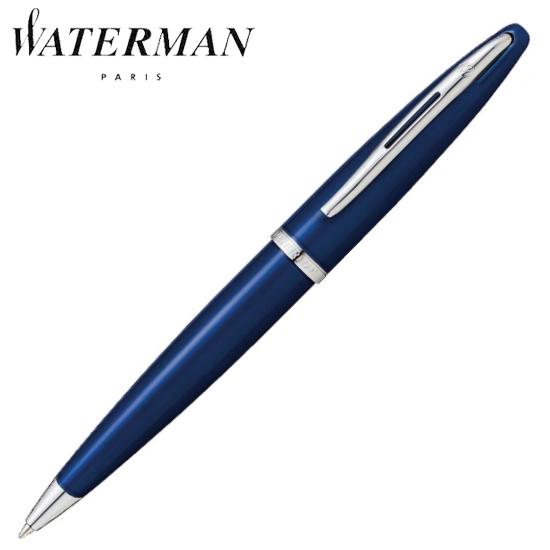 ウォーターマン 筆記用具 ボールペン カレン ブルーST 1904575AS 正規品 名入れ