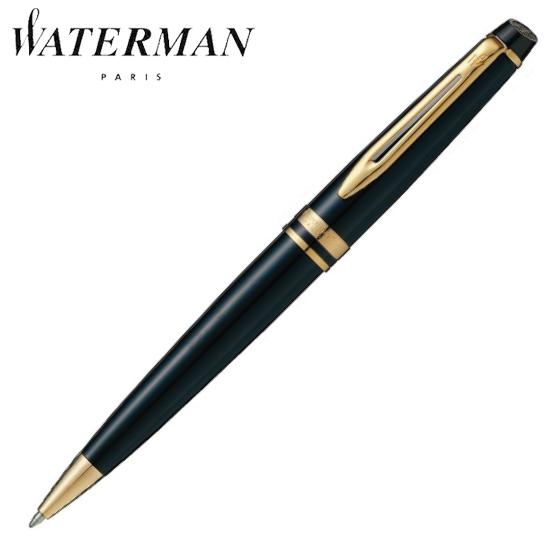 【正規品売店】 ウォーターマン 筆記用具 ボールペン エキスパート エッセンシャル ブラックGT S0951690 正規品 名入れ