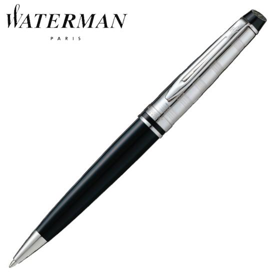 ウォーターマン 筆記用具 ボールペン エキスパート デラックス ブラックCT S0952350 正規品 名入れ