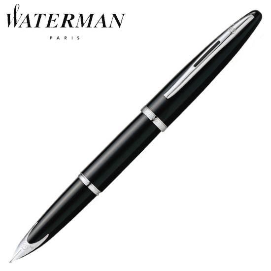 ウォーターマン 筆記用具 万年筆 カレン ブラック・シーST B S2228184 正規品 名入れ