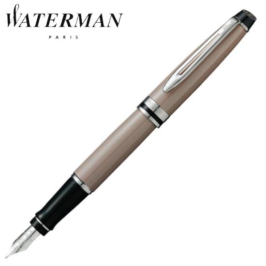 ウォーターマン 筆記用具 万年筆 エキスパート エッセンシャル トープCT F S2243142 正規品 名入れ