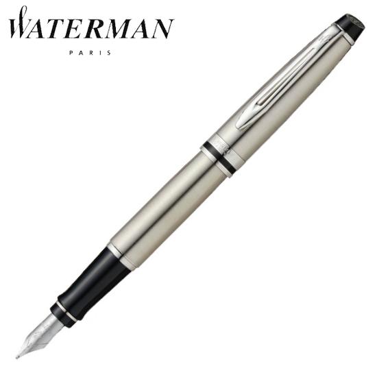 ウォーターマン 筆記用具 万年筆 エキスパート エッセンシャル メタリックCT F S2243152 正規品 名入れ