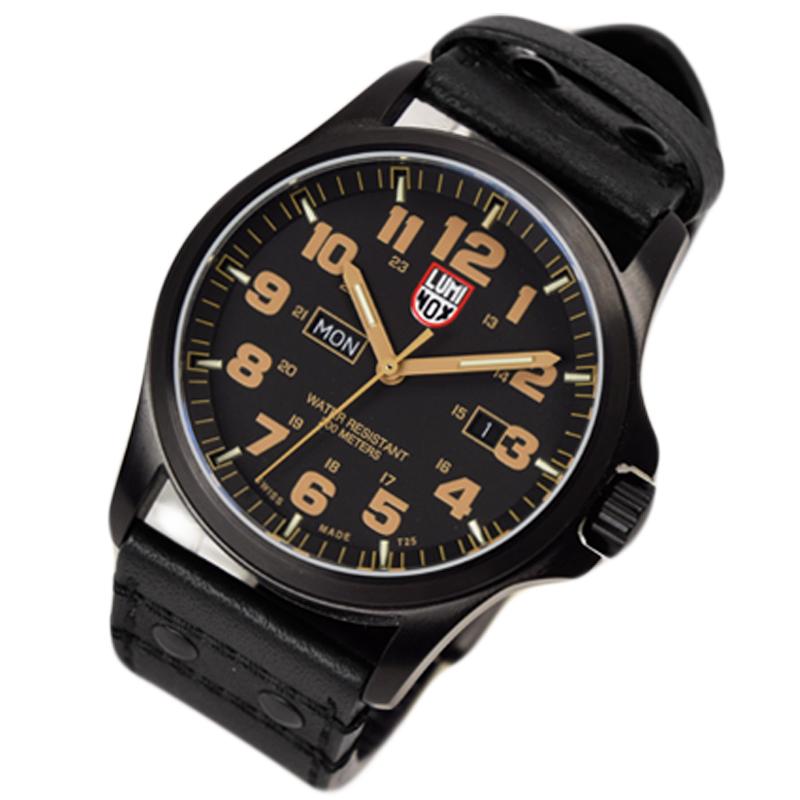 ルミノックス LUMINOX 腕時計 アナログ メンズ ATACAMA FIELD DAYDATE アタカマ フィールド デイデイト 1925 ブラック/ベージュ