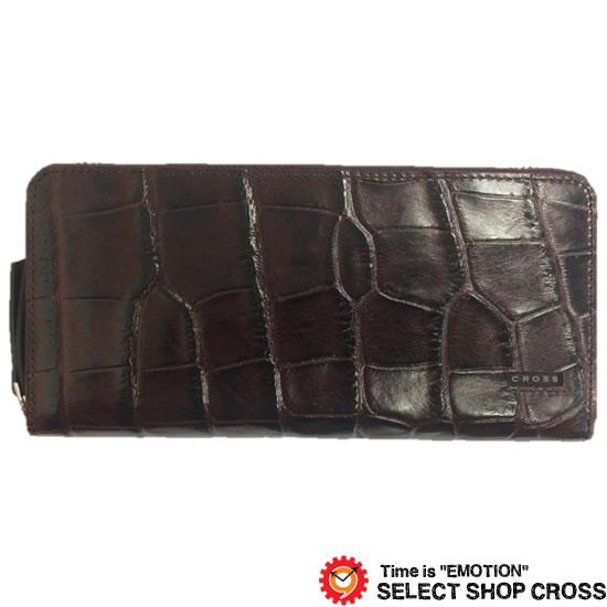 CROSS クロス COCO ココ 長財布 AC-198369-29 ブラウン 牛革 レザー 正規品
