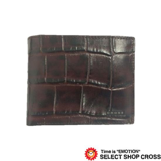 CROSS クロス COCO ココ 二つ折り財布 AC-198371-29 ブラウン 牛革 レザー 正規品