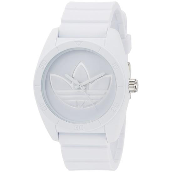 adidas アディダス SANTIAGO サンティアゴ クオーツ メンズ 腕時計 adh3198 ホワイト×シルバー
