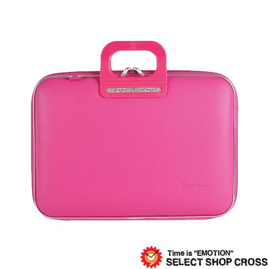 Bombata ボンバータ 正規品 ノートパソコン用ブリーフケース Firenze フィレンツェ 15インチ・B4ノート対応 PVCレザー FG0115-9 ピンク