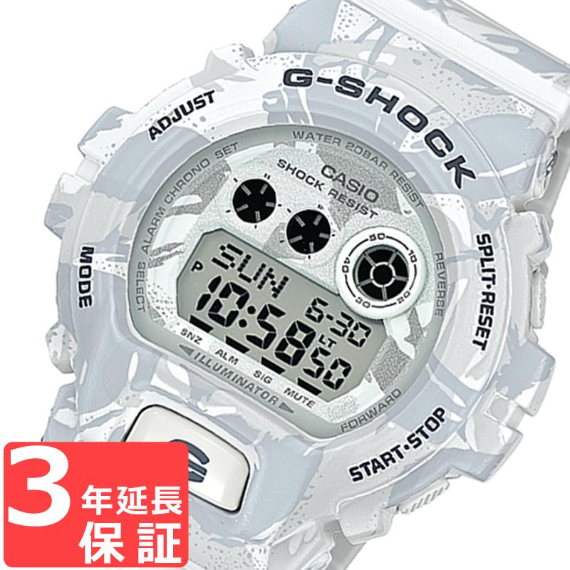 【3年保証】 カシオ 腕時計 CASIO G-SHOCK GD-X6900MC-7 Gショック 防水 ジーショック Camouflage Series 迷彩 カモフラージュシリーズ メンズ 時計 スノーカモ GD-X6900MC-7DR 海外モデル カシオ 腕時計  【あす楽】
