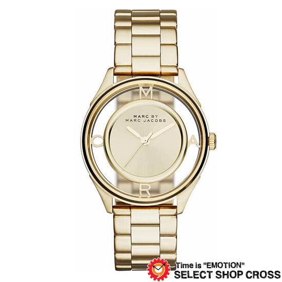 MARC BY MARCJACOBS マークバイマークジェイコブス 腕時計 ブランド レディース Tether ティザー ゴールド MBM3413
