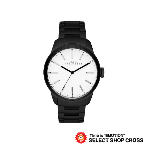 MARC BY MARCJACOBS マークバイマークジェイコブス 腕時計 メンズ Dillon ディロン ホワイト/ブラック MBM5089