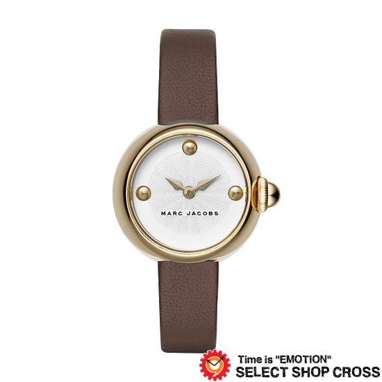MARC BY MARCJACOBS マークバイマークジェイコブス 腕時計 ブランド レディース Courtney コートニー シルバー/ゴールド×ブラウンレザーベルト MJ1431