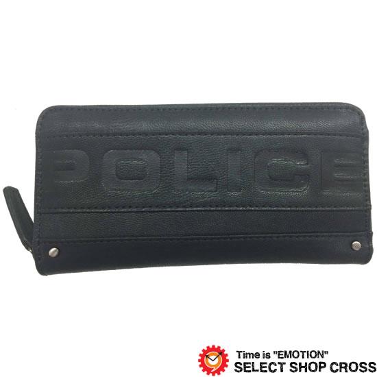 557557655755 POLICE ポリス METRO ラッピング メトロ 長財布 PA-58102-10 ブラック ...