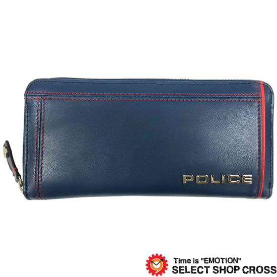 POLICE ポリス COLORS カラーズ 長財布 PA-58402-50 ブルー