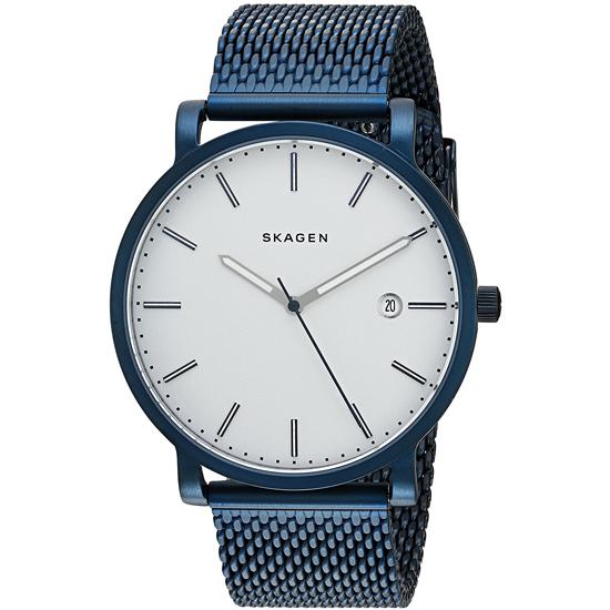 【3年保証】 スカーゲン メンズ レディース ユニセックス 腕時計 SKAGEN 時計 スカーゲン 時計 SKAGEN 腕時計 ハーゲン SKW6326 シルバー/ネイビー スカーゲン レディース