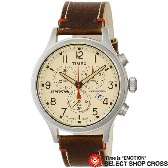 TIMEX タイメックス Expedition scout metalchrono エクスペディションスカウトメタルクロノ クオーツ メンズ 腕時計 tw4b04300