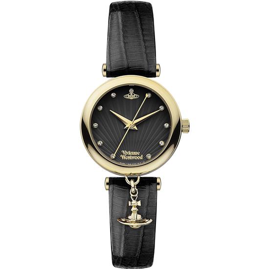 ヴィヴィアンウエストウッド VivienneWestwood VV108BKBK レディース 腕時計 ブランド ブラック/ブラック