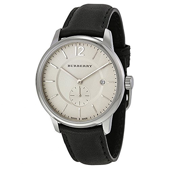 BURBERRY バーバリー 腕時計 メンズ クオーツ 5気圧防水 デイトカレンダー スイス製 BU10000