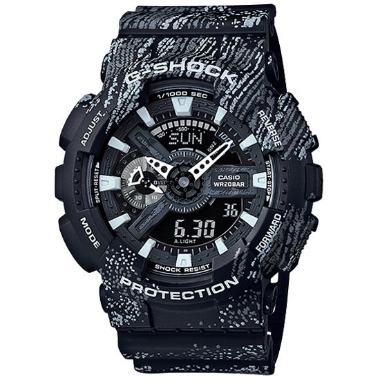 【名入れ対応】 【3年保証】 カシオ 腕時計 CASIO Gショック 防水 G-SHOCK ジーショック GA-110TX-1ADR メンズ アナデジ アナログ デジタル クオーツ 腕時計 カジュアル GA-110TX-1A 海外モデル ブラック 黒 [国内 GA-110TX-1AJF と同型] カシオ 腕時計