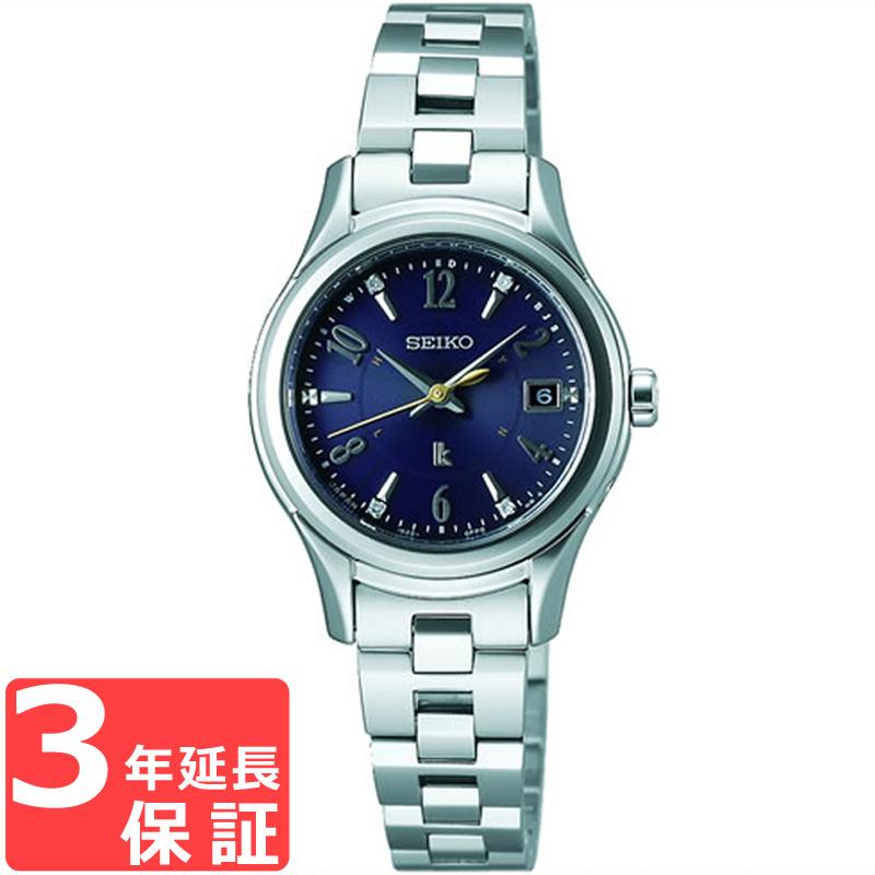 【3年保証】 SEIKO セイコー LUKIA ルキア ソーラー電波修正 レディース 腕時計 ブランド 電波時計 SSVW109 ルキア エターナルブルー ペア 2017限定モデル 限定数(世界)1500 正規品