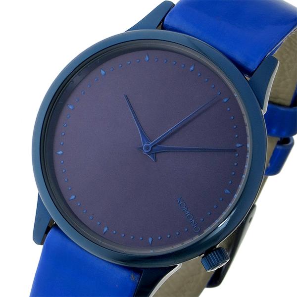 コモノ KOMONO Estelle Iridescent-Cobalt クオーツ レディース 腕時計 ブランド KOM-W2801 ディープブルー