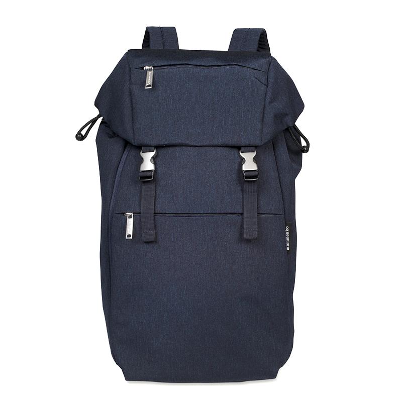 マリメッコ Marimekko ユニセックス レディース メンズ リュックサック バックパック KORTTELI backpack コルッテリ 046330 055 NAVY ネイビー