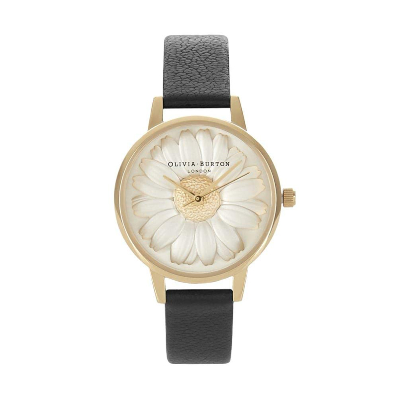 オリビアバートン 腕時計 Olivia Burton 時計 オリビアバートン 時計 Olivia Burton 腕時計 レディース 腕時計 3D DAISY BLACK&GOLD 3Dデイジー ブラック&ゴールド OB15EG38 レディース オリビアバートン 腕時計