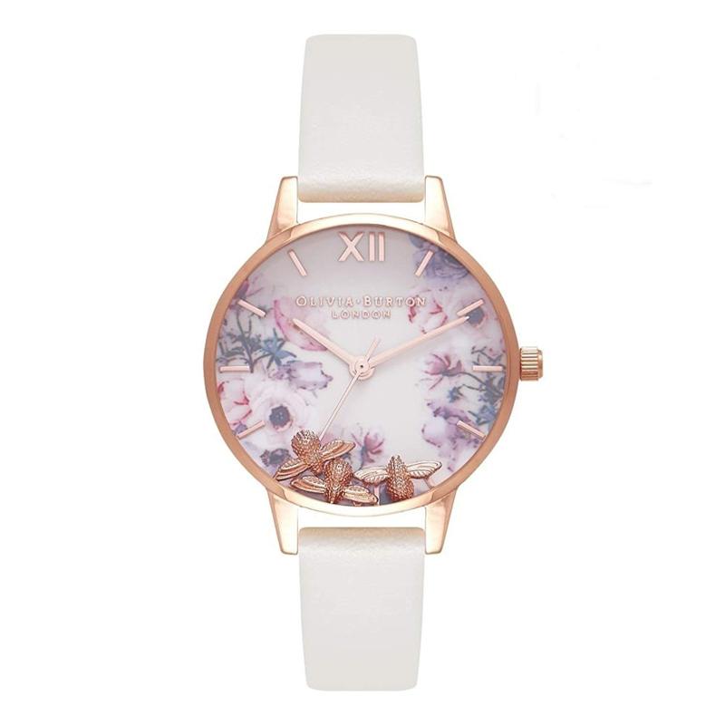 オリビアバートン 腕時計 Olivia Burton 時計 オリビアバートン 時計 Olivia Burton 腕時計 レディース BUSY BEES ビジービー OB16CH13 ホワイト 腕時計 レディース オリビアバートン 腕時計