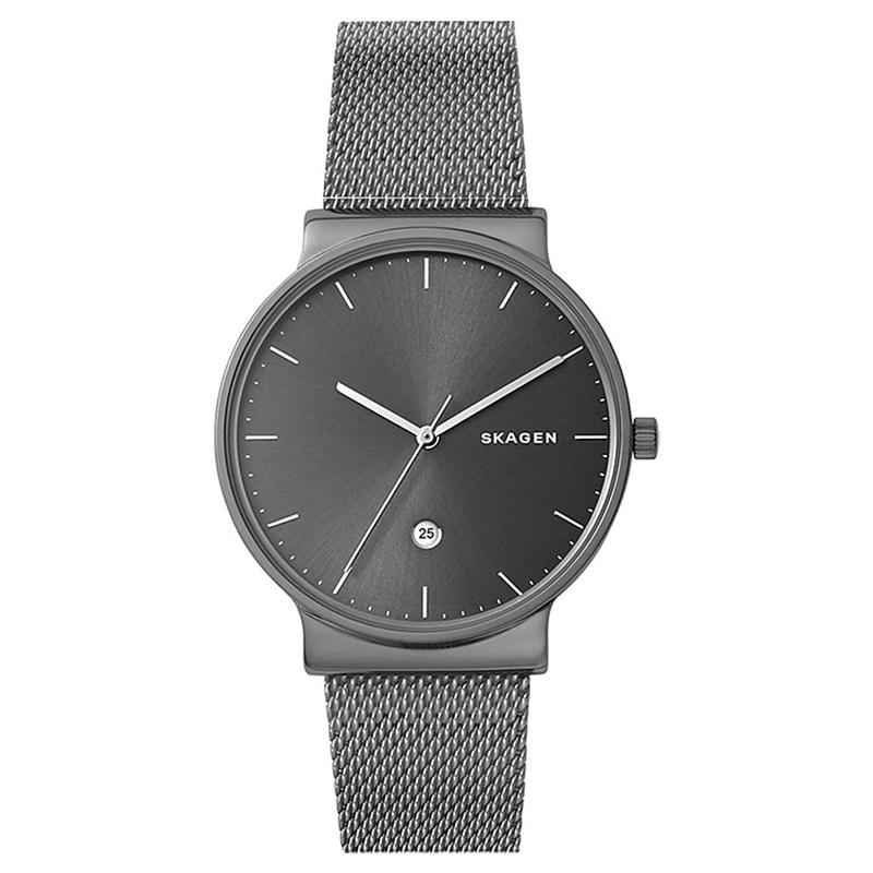 【3年保証】 スカーゲン メンズ レディース ユニセックス 腕時計 SKAGEN 時計 スカーゲン 時計 SKAGEN 腕時計 アンカー 40mm SKW6432 グレーシルバー×ガンメタル スカーゲン レディース 【あす楽】
