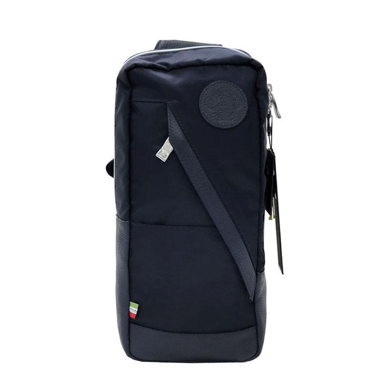 【正規品】 オロビアンコ Orobianco ボディバッグ ショルダーバッグ TRAVERSO-A 01 ブラック/ブラックレザー 7024170