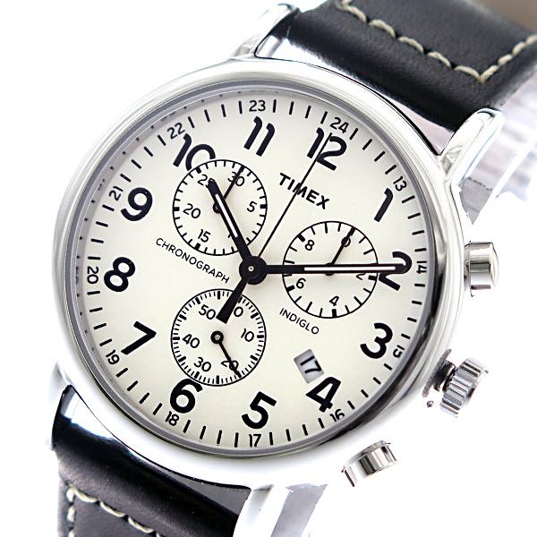タイメックス TIMEX インディグロ INDIGLO クオーツ メンズ 腕時計 TW2R42800 オフホワイト/ブラック 海外輸入品