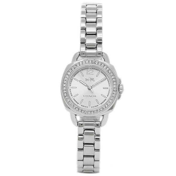 コーチ COACH クオーツ 腕時計 ブランド TATUM テイタムシルバ- 細身 ブレスレットレディース14502573