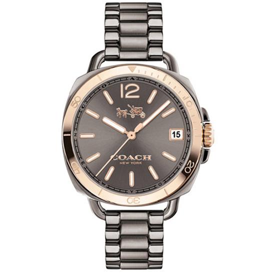 コーチ COACH クオーツ 腕時計 ブランド TATUM テイタムガンメタル/ローズゴールドブレスレットウォッチレディース14502597 【あす楽】