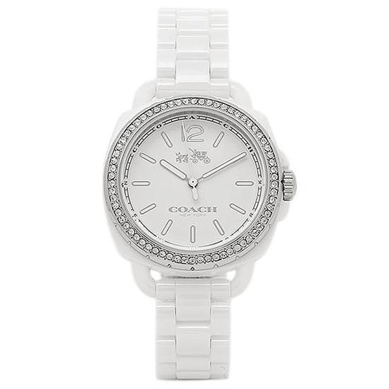 コーチ COACH クオーツ 腕時計 ブランド TATUM テイタムシルバ- シンプルレディース14502601