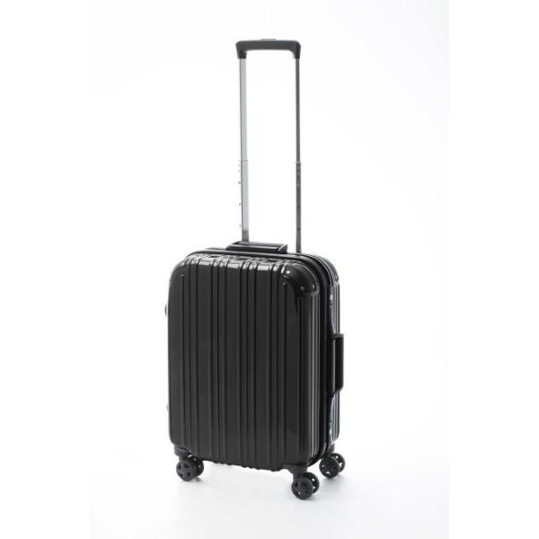 アクタス ACTUS ツートン フレームハードS 旅行カバン トラベル スーツケース キャリーケース 74-20241 ブラック 【代引き不可】 【直送商品】