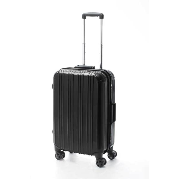 アクタス ACTUS ツートン フレームハードM 旅行カバン トラベル スーツケース キャリーケース 74-20251 ブラック 【代引き不可】 【直送商品】