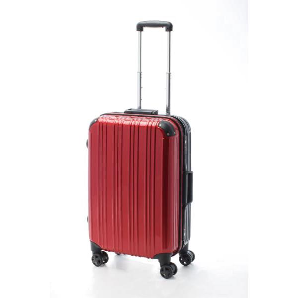 アクタス ACTUS ツートン フレームハードM 旅行カバン トラベル スーツケース キャリーケース 74-20253 レッド 【代引き不可】 【直送商品】