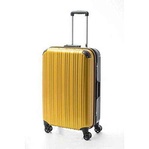 アクタス ACTUS ツートン フレームハードL 旅行カバン トラベル スーツケース キャリーケース 74-20267 イエロー 【代引き不可】 【直送商品】
