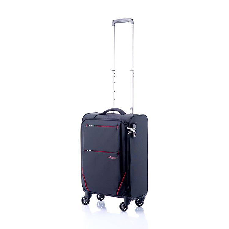 ヒデオワカマツ HIDEO WAKAMATSU フライII スーツケース キャリーケース 旅行カバン 85-76001 ブラック 【代引き不可】 【直送商品】