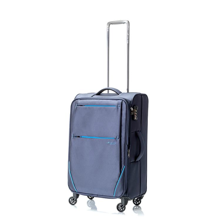 ヒデオワカマツ HIDEO WAKAMATSU フライII スーツケース キャリーケース 旅行カバン 85-76012 ネイビー 【代引き不可】 【直送商品】