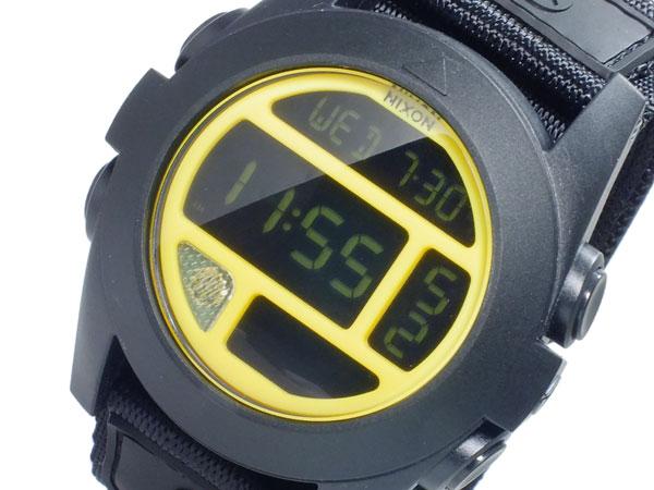 ニクソン NIXON バジャ BAJA デジタル メンズ 腕時計 A489293 BLACK YELLOW ブラック×イエロー