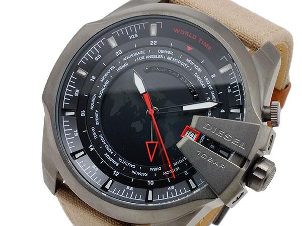 ディーゼル DIESEL クオーツ メンズ ワールドタイム 腕時計 DZ4306