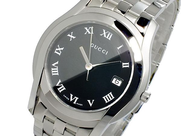 グッチ GUCCI Gクラス G CLASS メンズ 腕時計 YA055302 ブラック