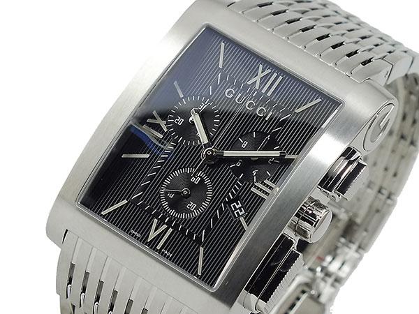 グッチ GUCCI クロノグラフ メンズ 腕時計 YA086309