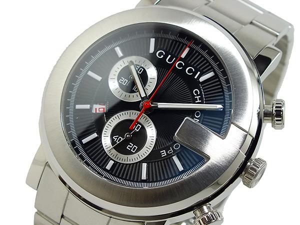 グッチ GUCCI Gラウンド G-ROUND メンズ 腕時計 YA101309