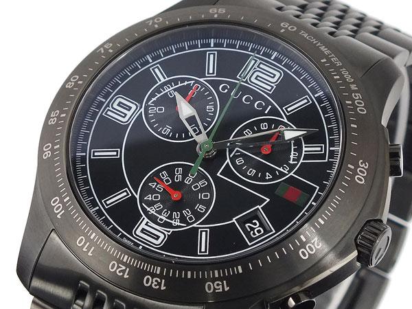 グッチ GUCCI Gタイムレス クロノグラフ 腕時計 YA126217