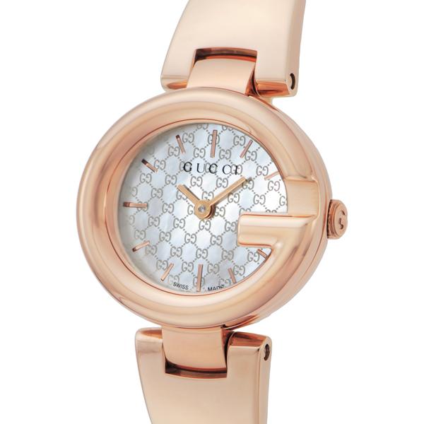 グッチ GUCCI グッチシマ クオーツ レディース 腕時計 ブランド YA134513 ホワイトシェル