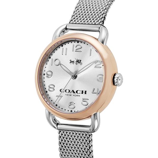 コーチ COACH デランシー クオーツ レディース 腕時計 ブランド 14502246 オフホワイト